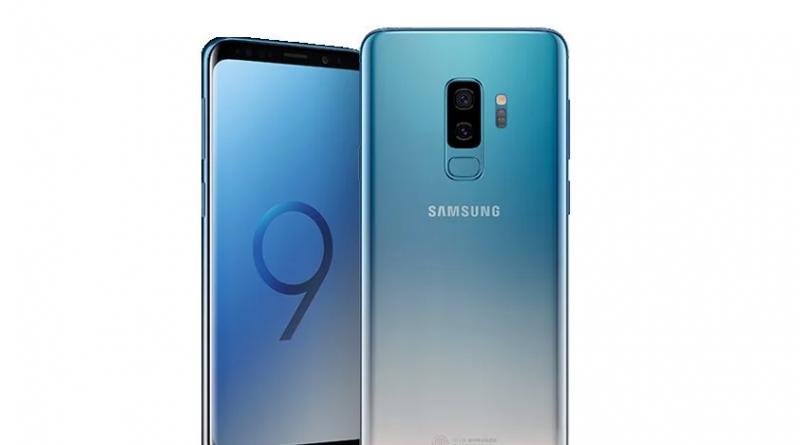Ice Blue Galaxy S9 en S9+