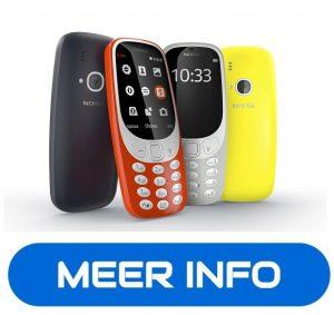 Nokia3310 Beste Telefoons voor ouderen