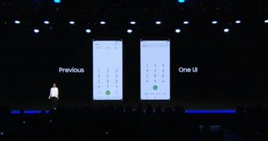 One UI interface van Samsung