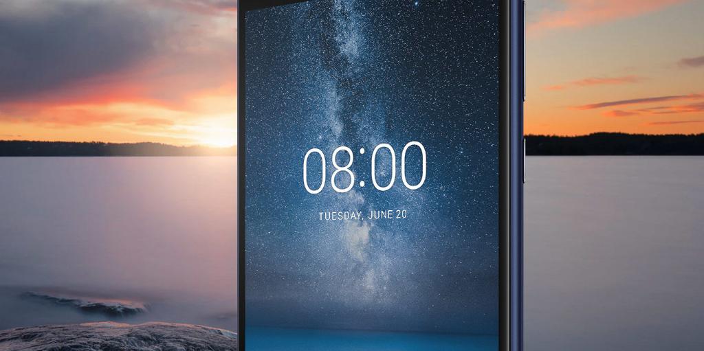 Nokia 8 - 749 Nits - Super fel beelscherm met hoge helderheid