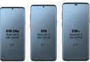 Schermgroottes Galaxy S10 serie uitgelekt