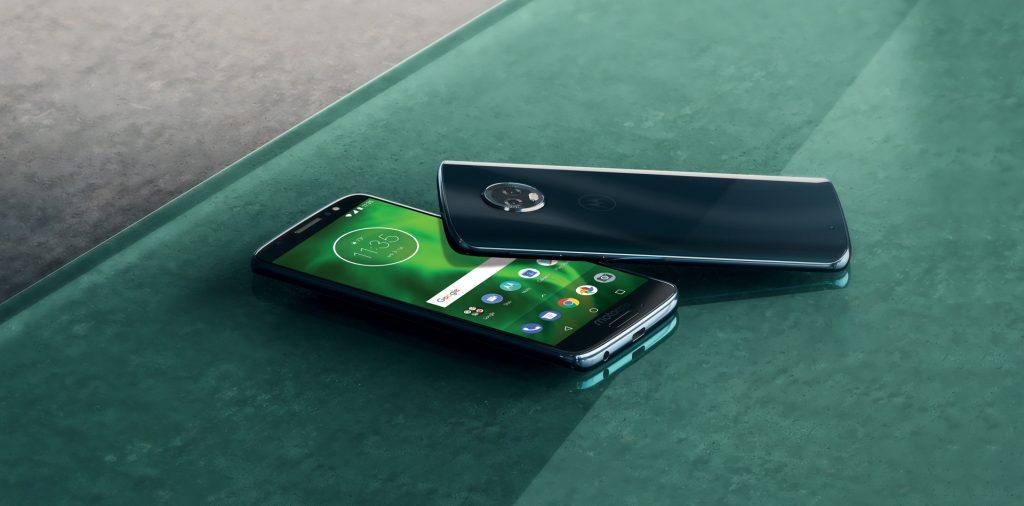 Motorola G6 Plus - 876 Nits - Fel beeldscherm