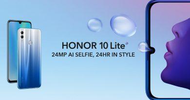 Honor 10 lite in Nederland verkrijgbaar